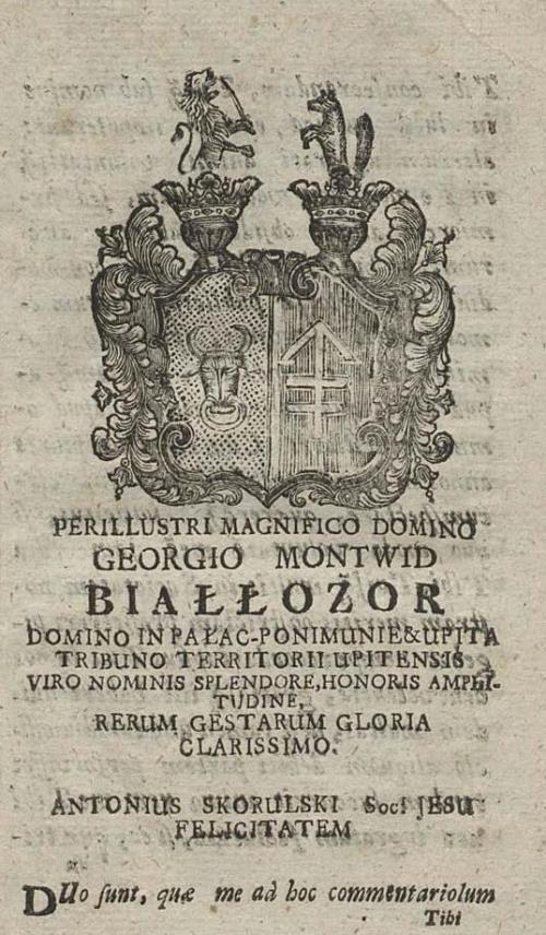 герб Georgio Montwid Biallozor