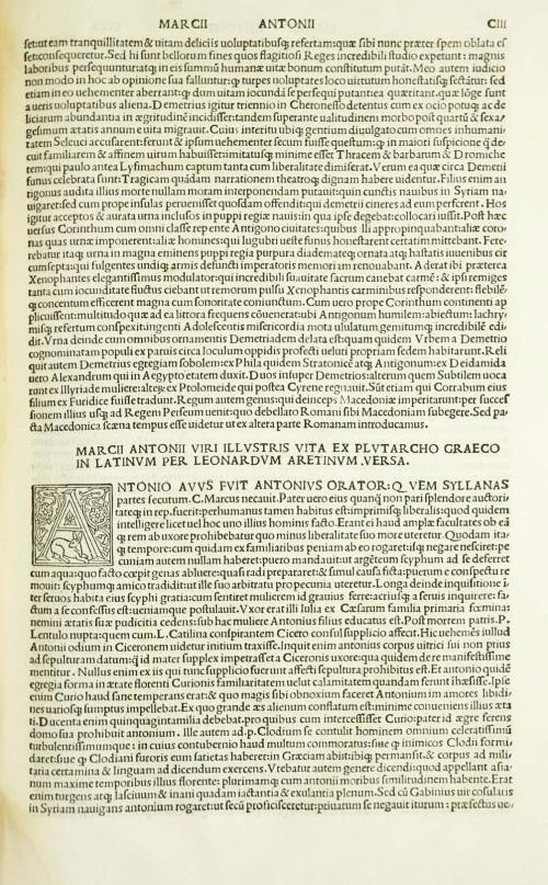 Ліст кнігі з ініціялам