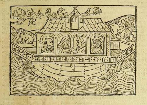 Ноеў каўчэг. Л. XII a.
