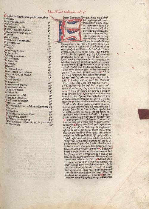 Ініцыял кнігі. Ліст [133]а