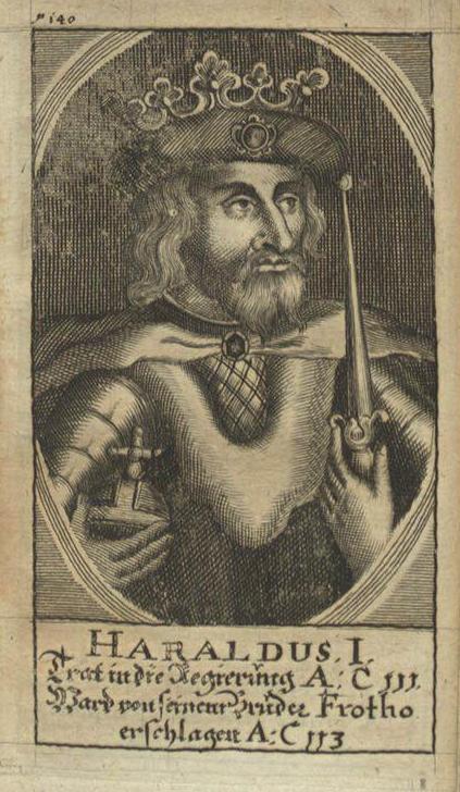 Харальд I, легендарный король Дании