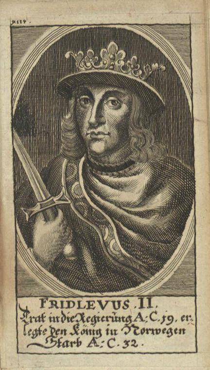 Фридлевус II, легендарный король Дании