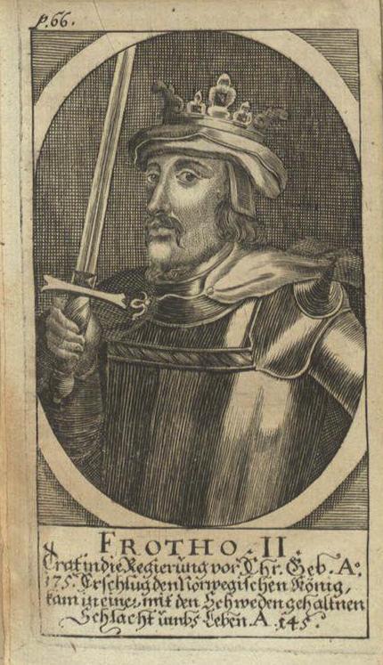 Фрото II, легендарный король Дании
