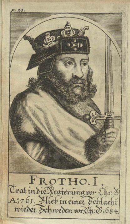 Фрото I, легендарный король Дании