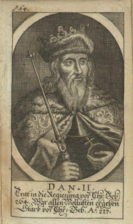 Дан II, легендарный король Дании