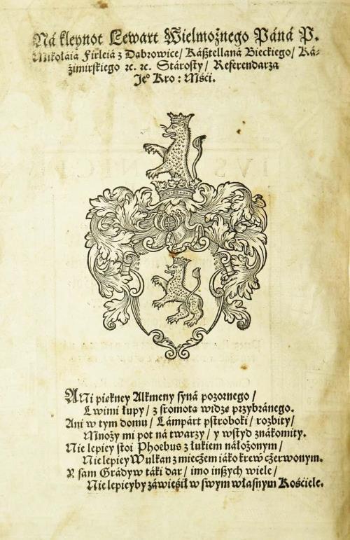 Герб Мікалая Фiрлея з Дабровіц